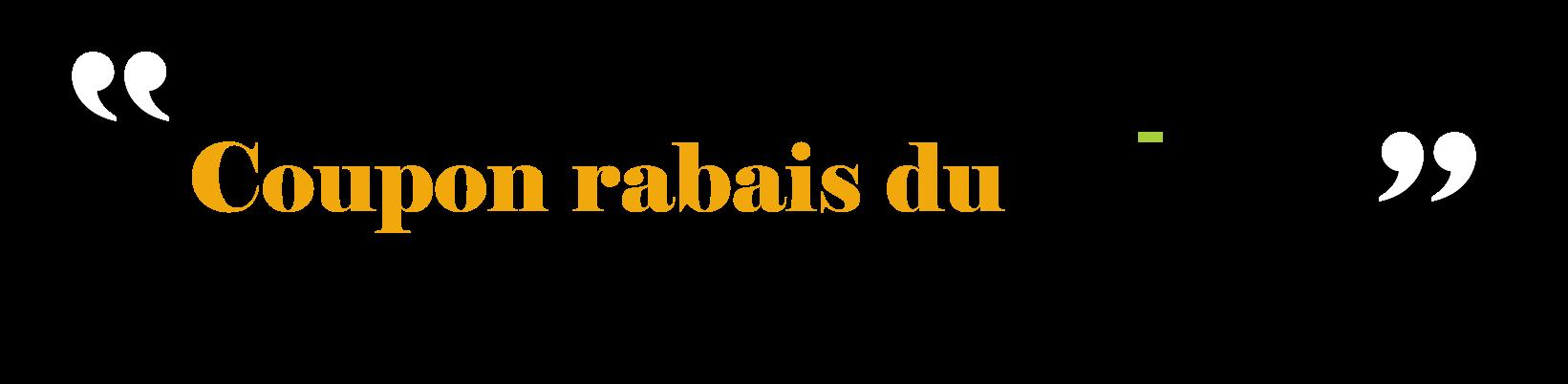 Coupon Rabais Diac